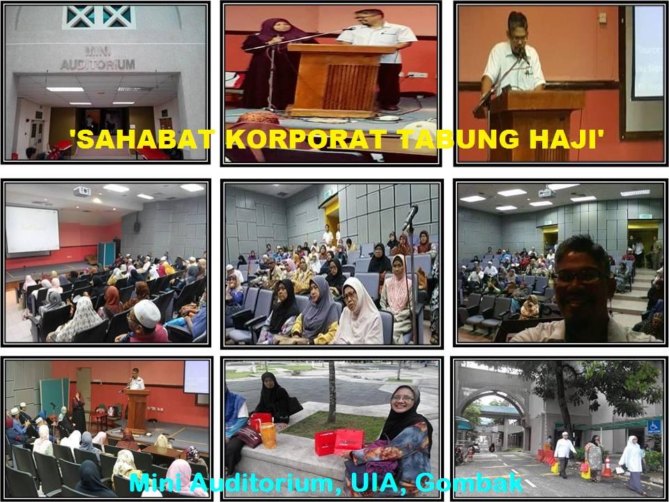 Sahabat Korporat Tabung Haji 'Sihat Bertenaga'. di Mekah. Aamin...