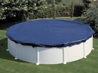Ma piscine moi a quoi sert la toile d 39 hiver pour piscine for Bache filet hivernage piscine