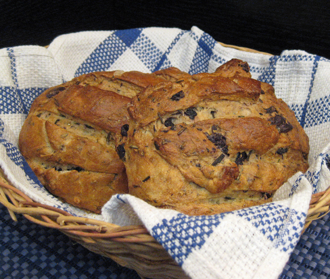 ... #258: Rosemary-Kalamata Olive Bread: Hooray for Artesanal Breads