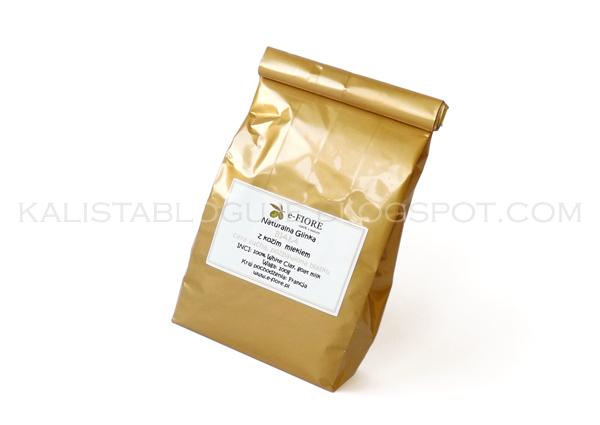 Naturalna  biała glinka  kozie mleko i miód, e-Fiore