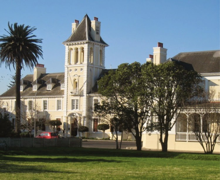 The hospital in Cape Town