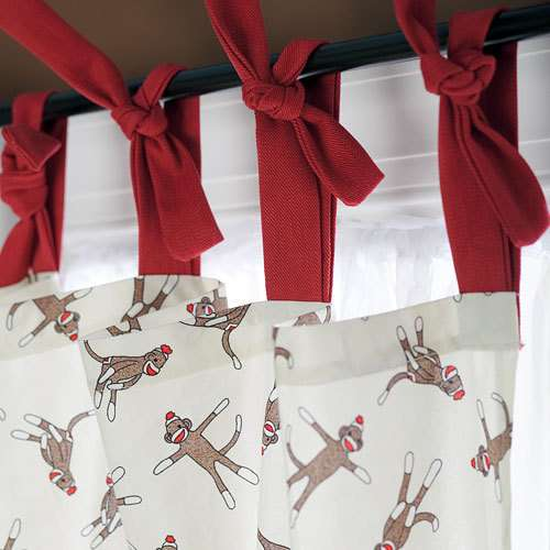 Cortinas De Baño Navidenas:Target Monkey Shower Curtain