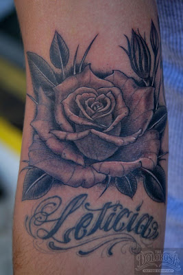rose+tattoo+roses+rosebud+bud+name+tattoo+black+and+grey+fineline+fine ...
