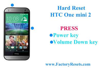 Hard Reset HTC One mini 2