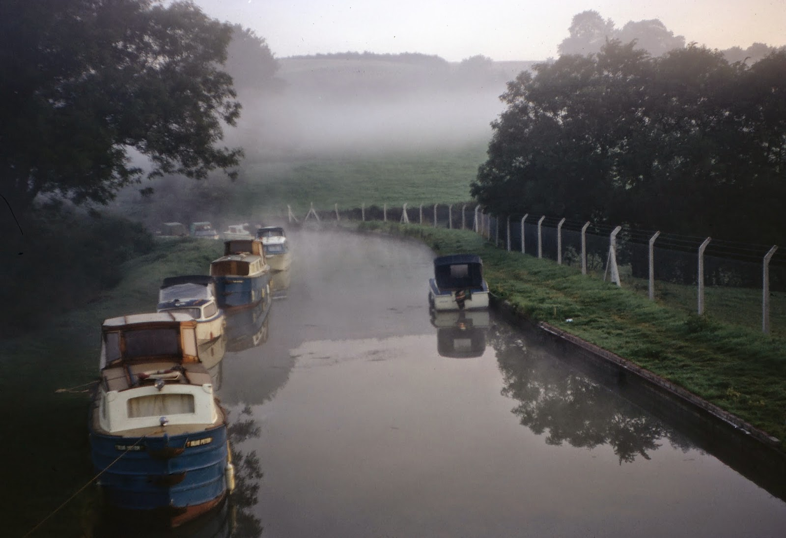 Misty morning at Napton