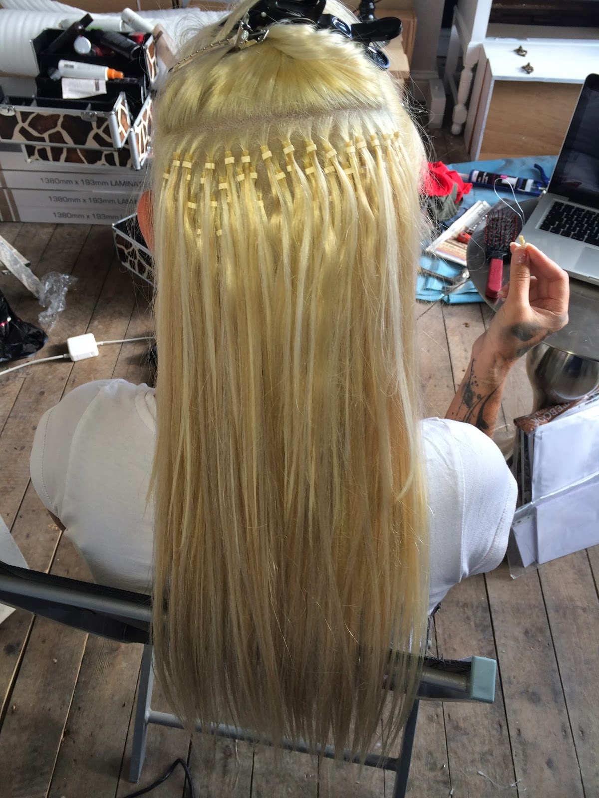 Simon Townley Hair Micro Loop Hair Extensions