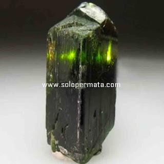 Artikel Batu permata Natural Diopside (Black Star)