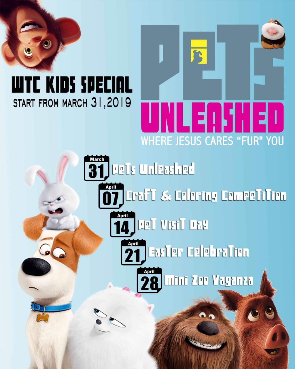 WTC KIDS SPECIAL EVENT