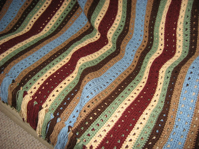 Crocheted Reflections Afghan ~ Version Two