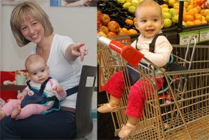 More uses for the Snazzy Baby Deluxe Travel Chair - Click to view more info