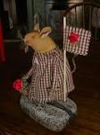 MatildanMaus hiirulaiset ovat n.14-18cm korkeita.