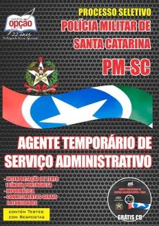 NOVO Concurso Polícia Militar / SCAGENTE TEMPORÁRIO DE SERVIÇO ADMINISTRATIVO 2015
