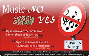 Jauhi Nyanyian dan Alat - alat Musik