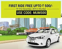 Ola Cabs Flat Rs. 500 off on first ride of Olacab in Mumbai