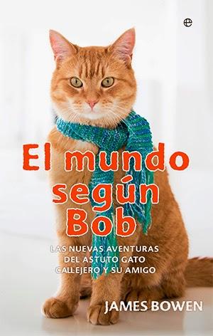 """Portada """"El mundo según Bob"""""""