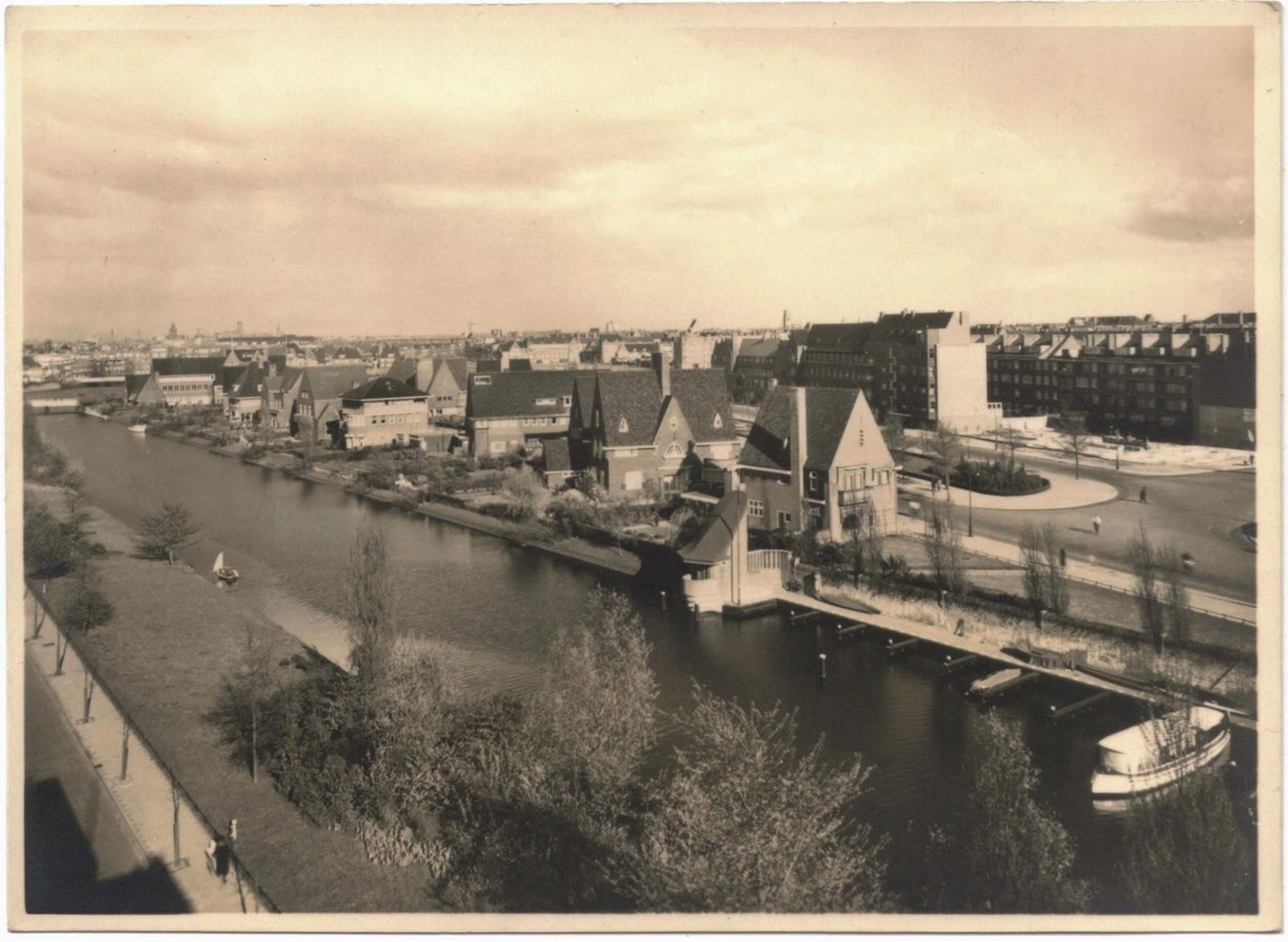 1959 Postcard of Amsterdam
