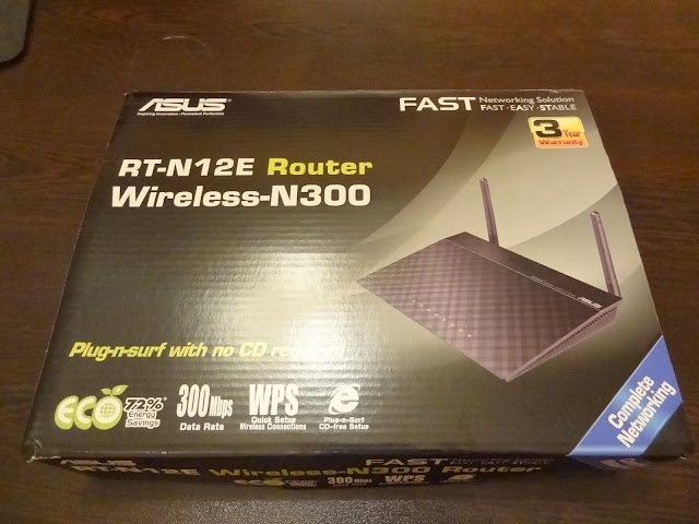 ASUS RT-N12E Wireless-N300