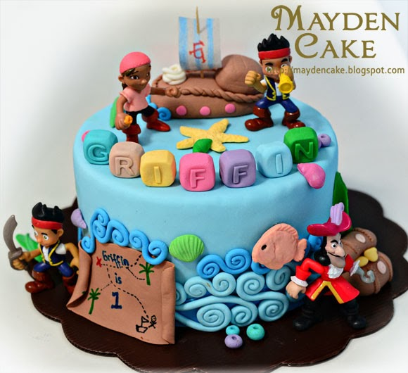 Mayden Cake Personalized Gifts Jake And The Neverland Pirates