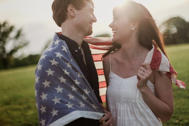 Fourth of July Pregnancy Announcement | chelsa-bea.com