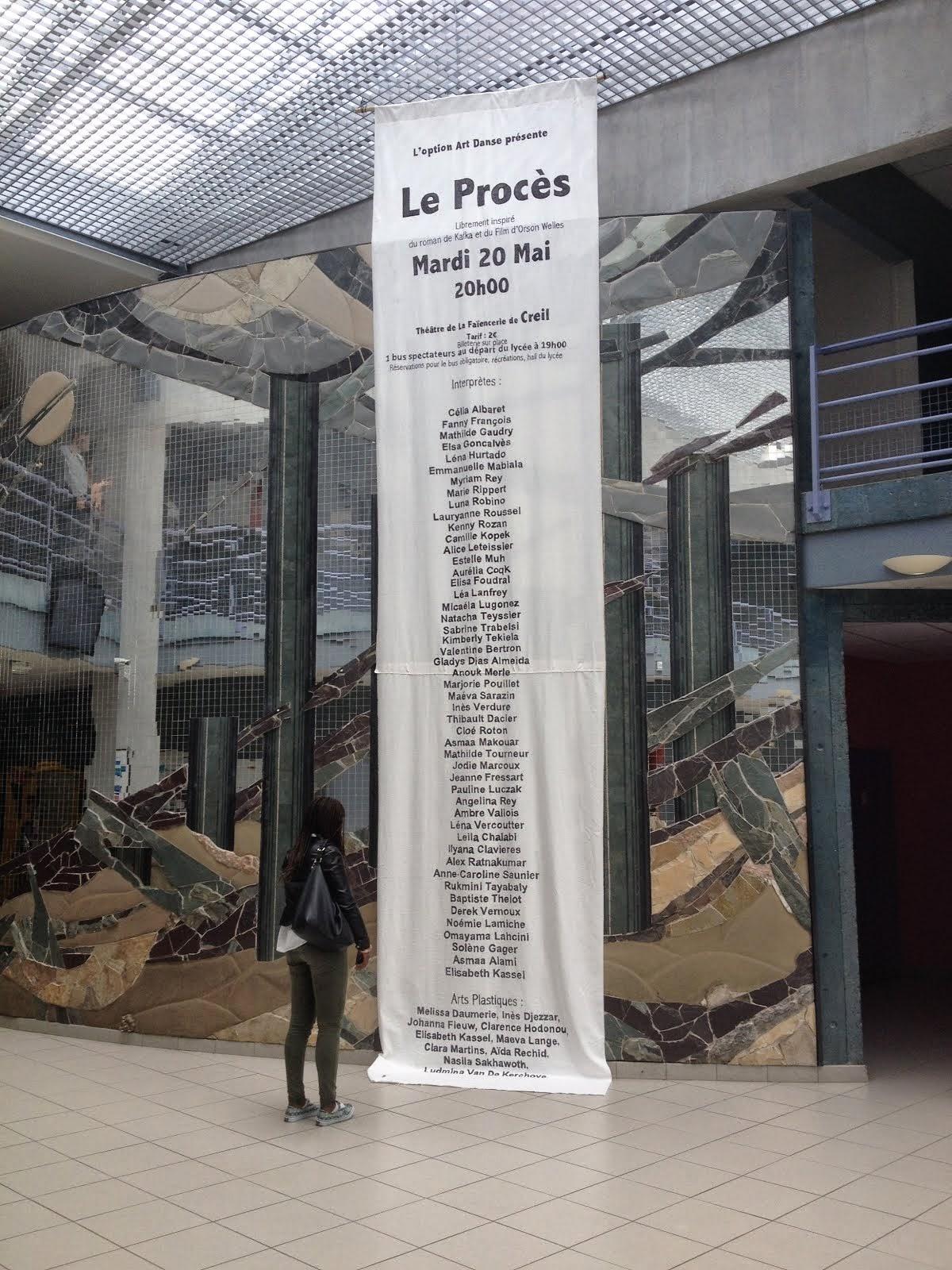 """""""Le procès"""" Options art danse 2014"""