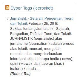 indeks jurnalistik google