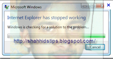 how to fix internet explorer has stopped working