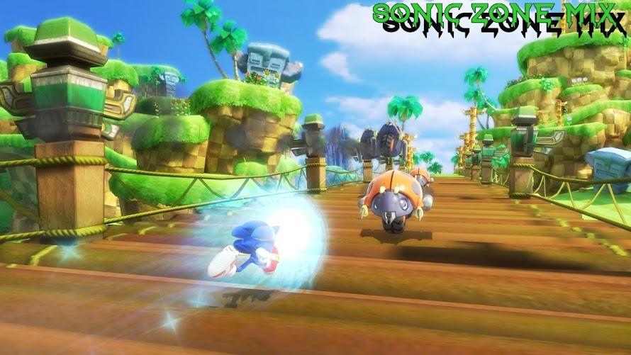 Sonic zone mix