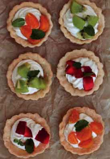 Mascarpone fruit tartlets
