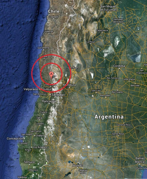 san felipe, chile earthquake 2013 June 13