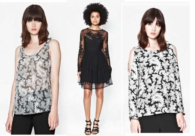 French Connection Autumn/Winter 2014 Collection - ladies tops, going out tops, ladies dresses