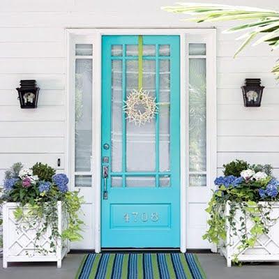 starfish wreath for front door