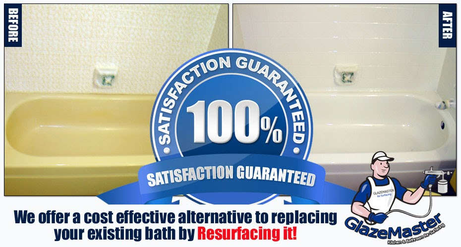 Glazemaster Resurfacing Bathtub Master Bath Resurfacing