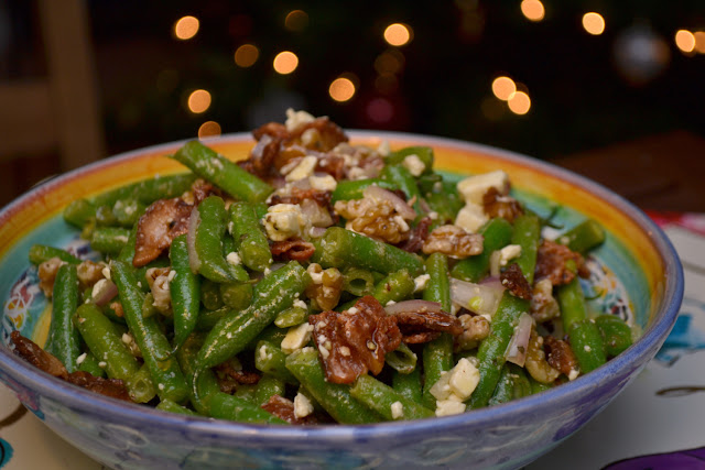 green bean feta and bacon salad recipe