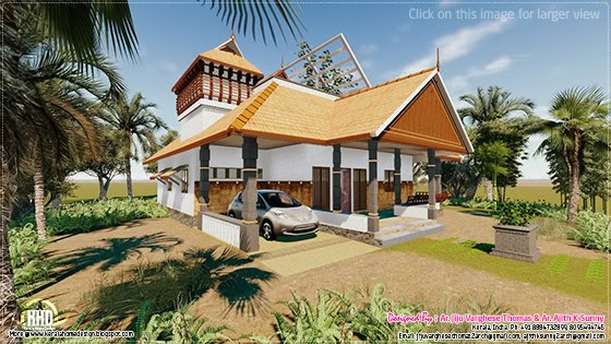 Traditional home Kerala