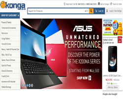 How to shop online on Konga