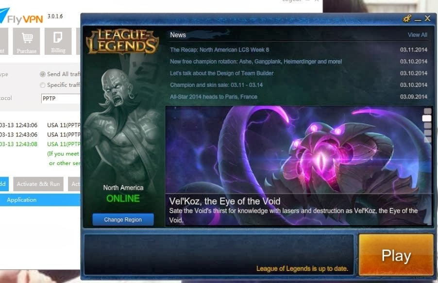 Fix League of Legends Firewall Bug With FlyVPN - 2