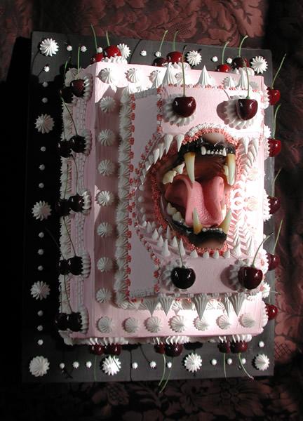 Impresionantes diseños de tortas con dientes - Postres Letales