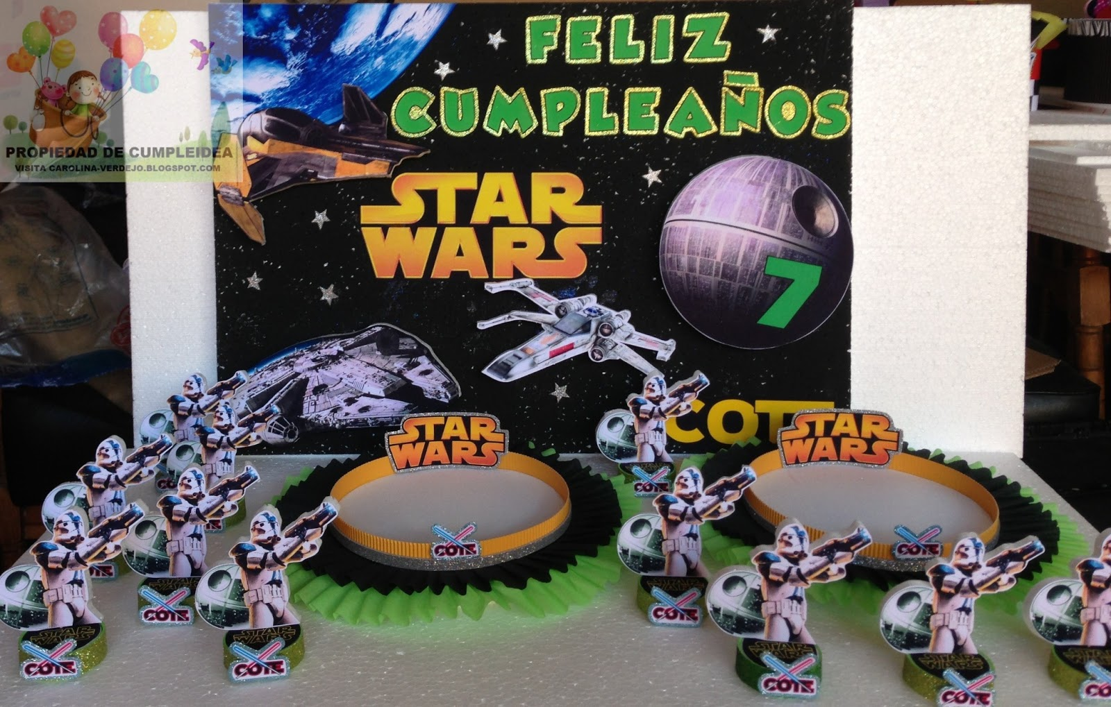 Decoraciones infantiles star wars for Decoracion star wars
