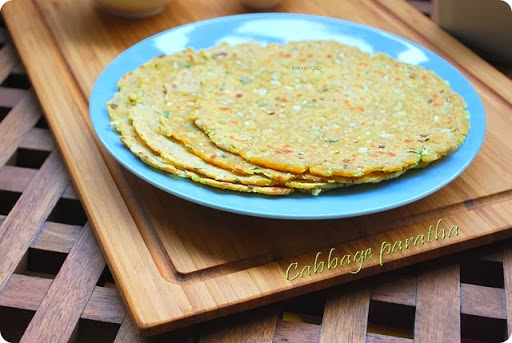 Easy Cabbage Paratha