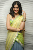 Adah sharma glam pics in saree-thumbnail-4