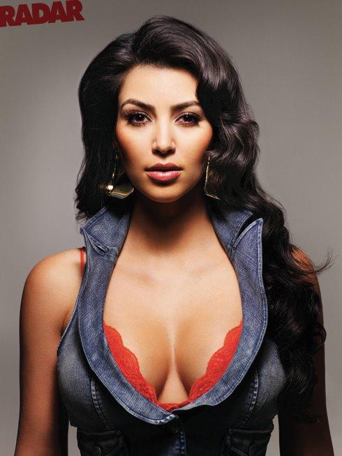 Kim Kardashian in Ralph Magazine Lingerie photos