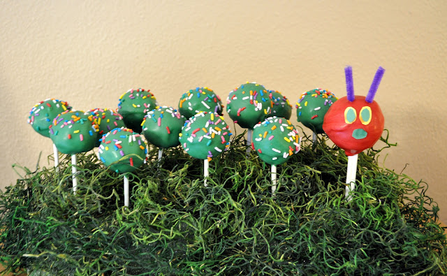 Very Hungry Caterpillar Party cake