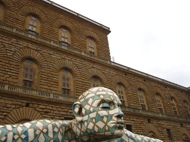 Pitti Palace.Florence, Italy.