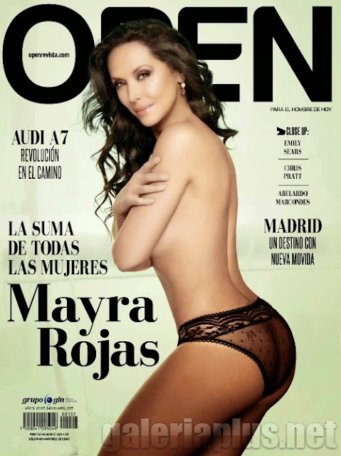 FOTOS: Mayra Rojas Revista Open México - Abril 2015