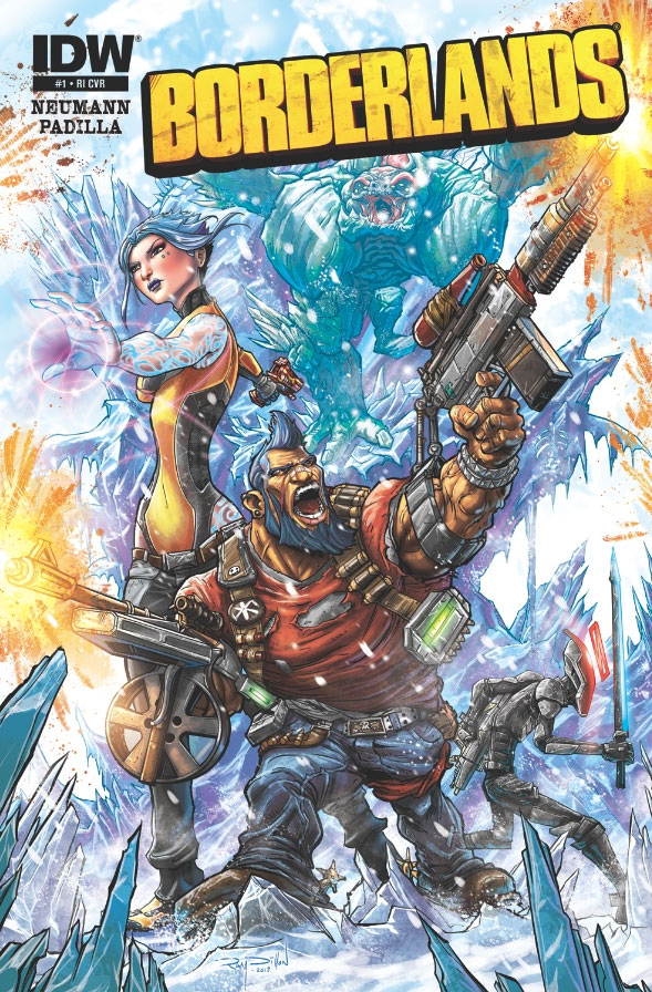 OFFICIAL - BORDERLANDS 2: Origins Art!
