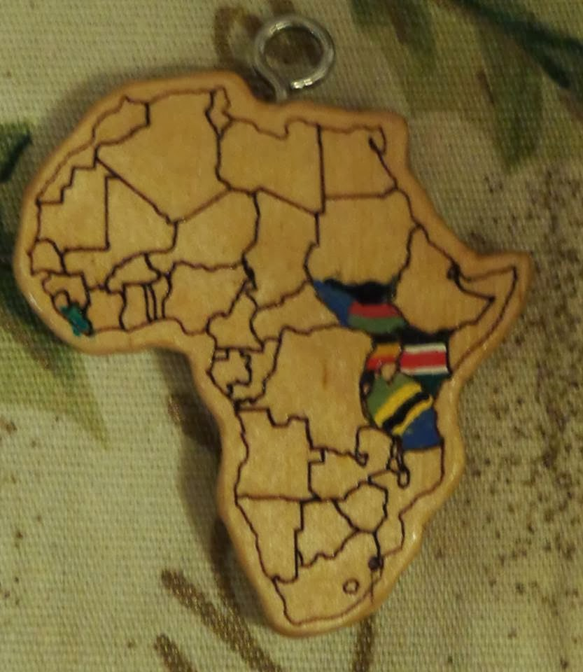 in 2013 dave preached at a tanzanian fellowship and a south sudanese church we colored in those nations on jacob s map