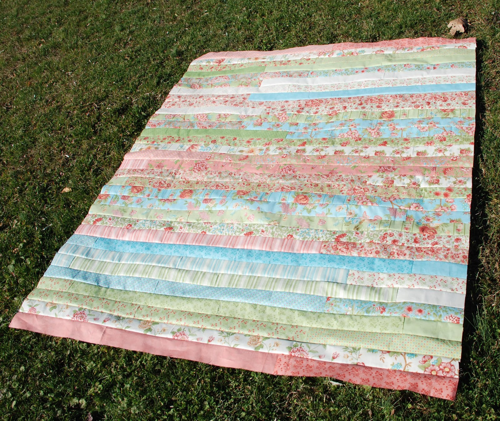 Quilt Pattern Jelly Roll Race : Spun Sugar Quilts: Jelly Roll Race quilt #5