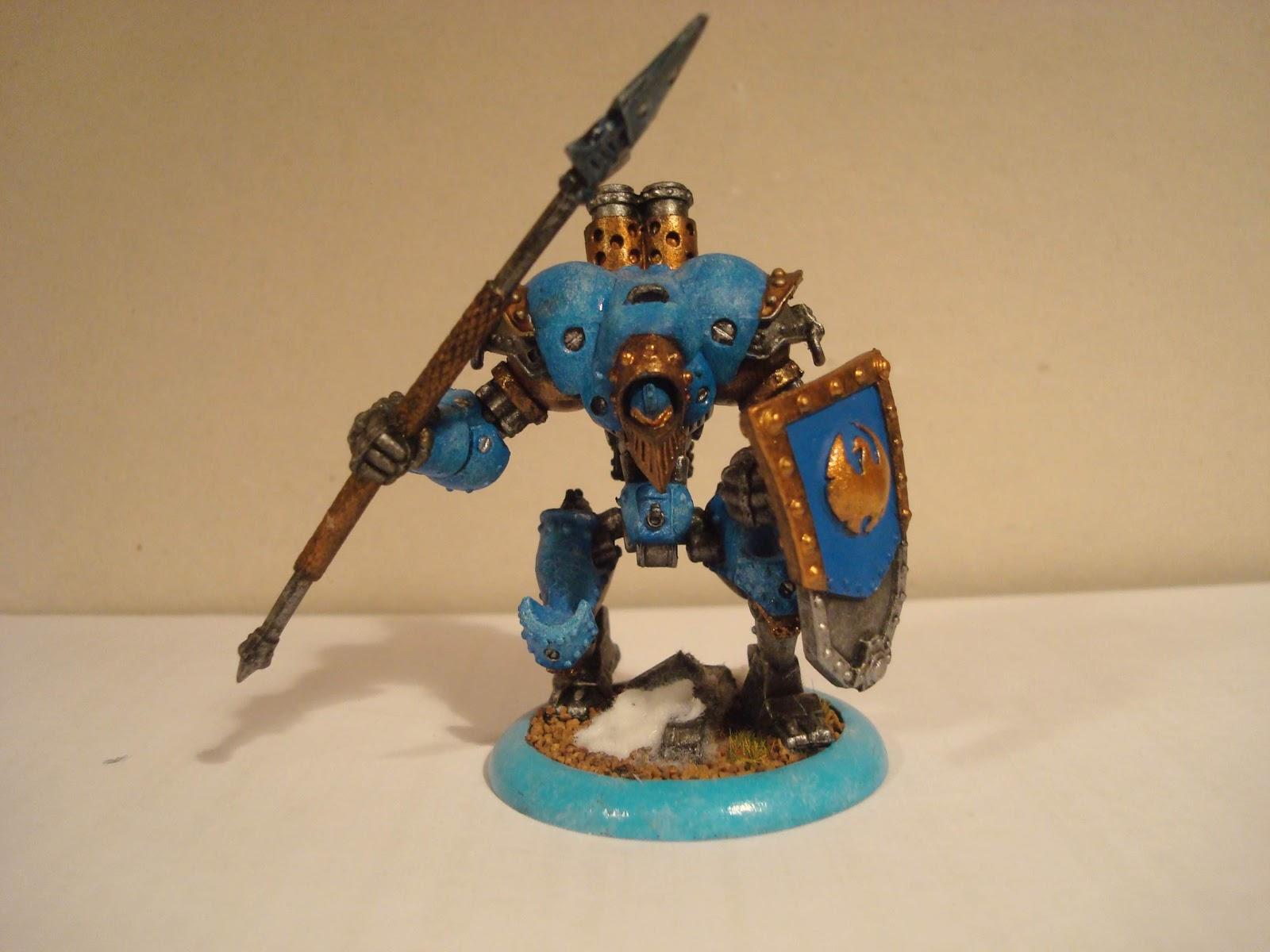 Iron Braxus Warmachine Cygnar Approaches
