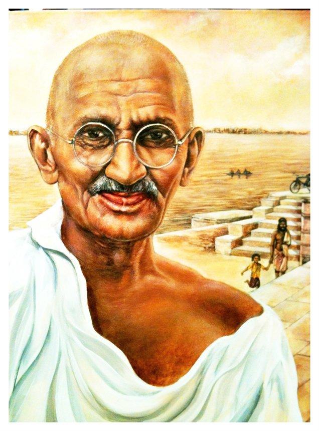 Resultado de imagen de mahatma gandhi per a nens