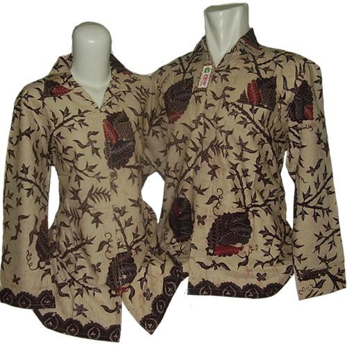 Baju Batik Mama Papa Baju